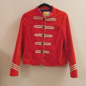 Red/girls girls Military Jacket